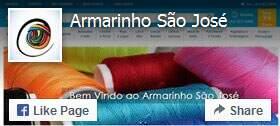 Curta a fanpage do Armarinho São José